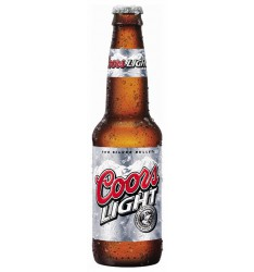 CERVEZA COORS LIGHT 33 cl.