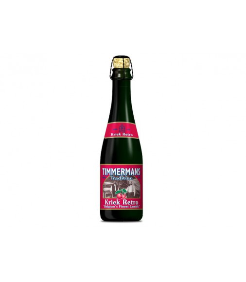 Timmermans Tradition Kriek Retro Lambic (Cereza) 37.5 cl.