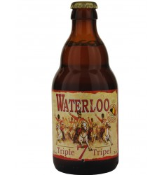 Waterloo Tripel-Triple 7 Blonde (Rubia) 33 cl.