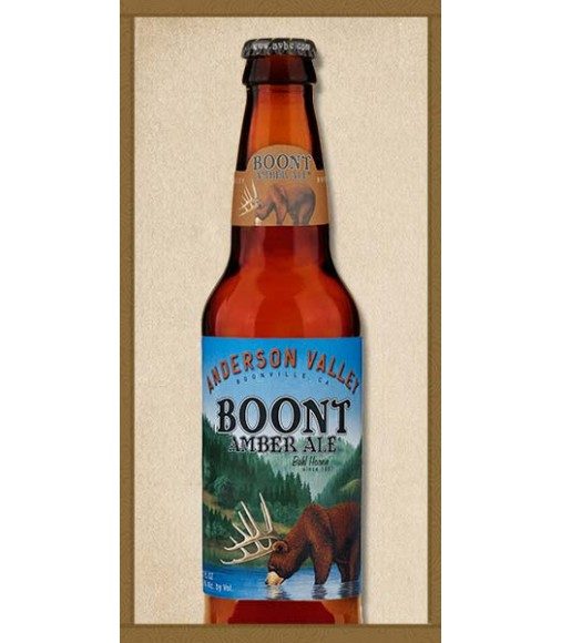 CERVEZAS ANDERSON VALLEY BOONT AMBER 33CL